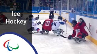 Canada v South Korea | Semi-final | Ice hockey | PyeongChang2018 Paralympic Winter Games