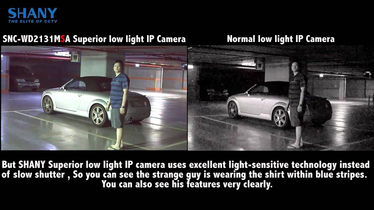 Shany 1080p Starlight Ip Camera Democlip Parking Garage