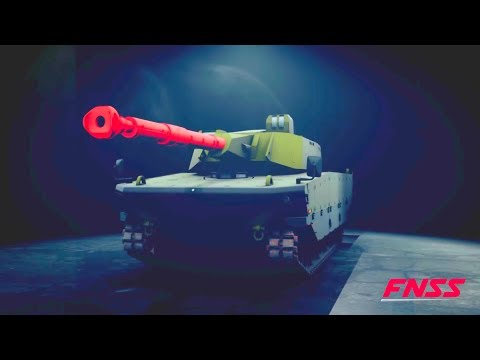 FNSS - Kaplan & Pars Family of Armoured Vehicles Simulation [1080p]