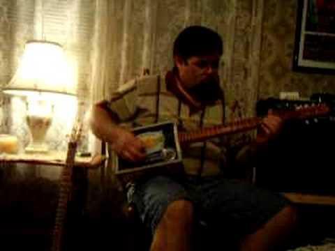 Cigar Box Guitar-Back Porch Mojo 5 string