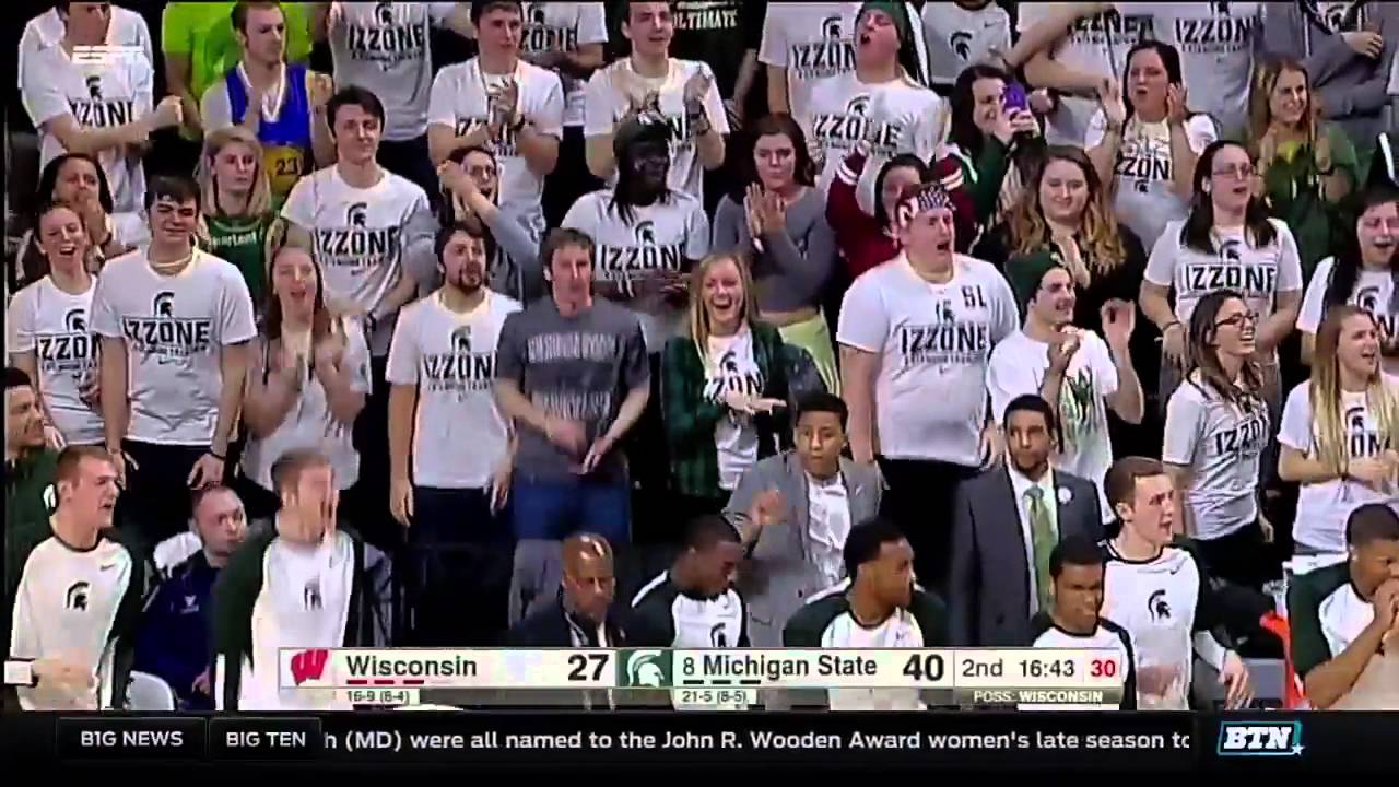 Wisconsin at Michigan State - Men's Basketball Highlights - YouTube
