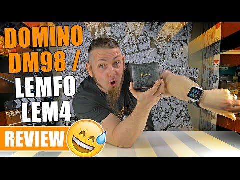 DOMINO DM98 / LEMFO LEM4 - Die XXL China-Smartwatch? [Review, German, Deutsch]