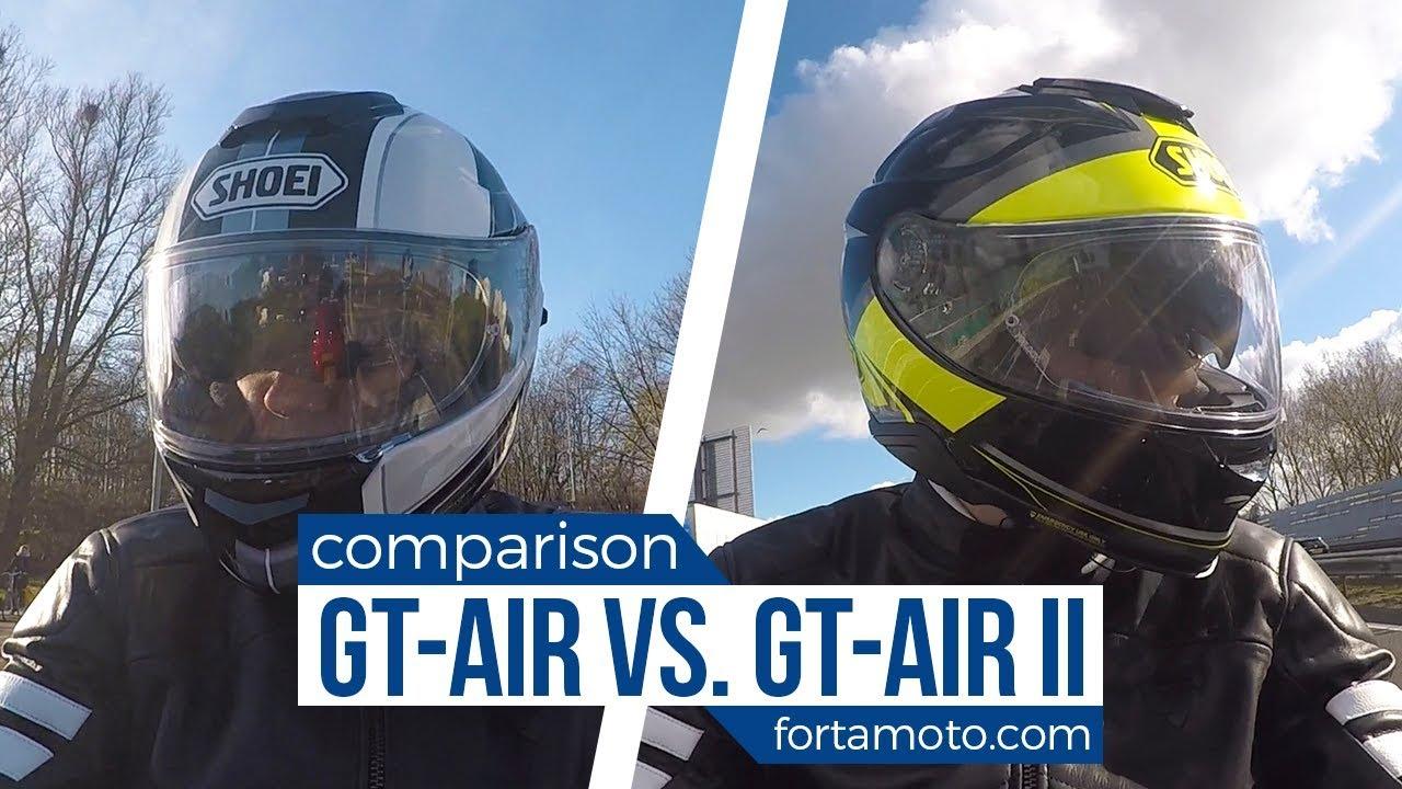 Shoei Gt Air Vs Gt Air Ii Road Test Fortamotocom Youtube