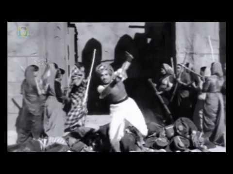 Kitturu Channamma Kannada Movie | Kitturu Yuddha Scene | Kannada Action Scenes | M V Rajamma