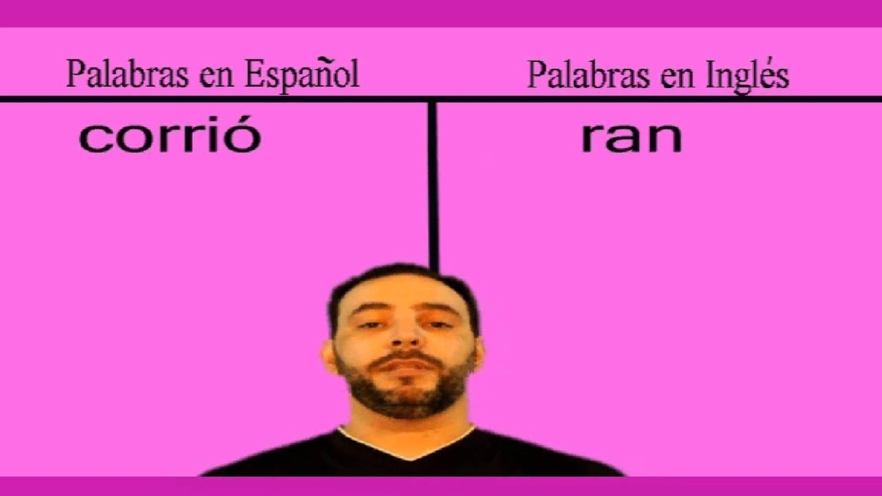 C Mo Se Dice Ran Corri En Ingles Youtube