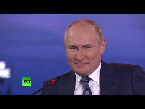 Putin takes part in Eastern Economic Forum plenary session in Vladivostok