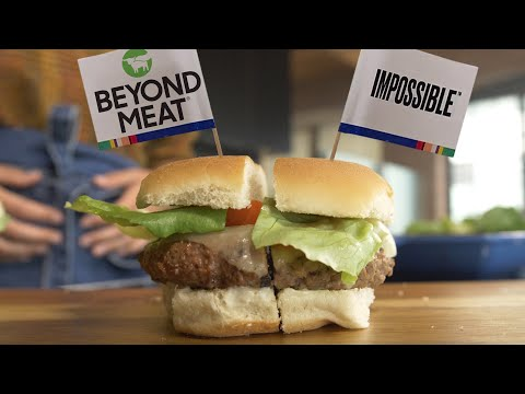 Impossible Burger vs Beyond Meat Burger Taste Test