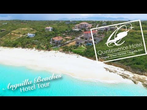 Anguilla Hotel Tour - Quintessence Hotel
