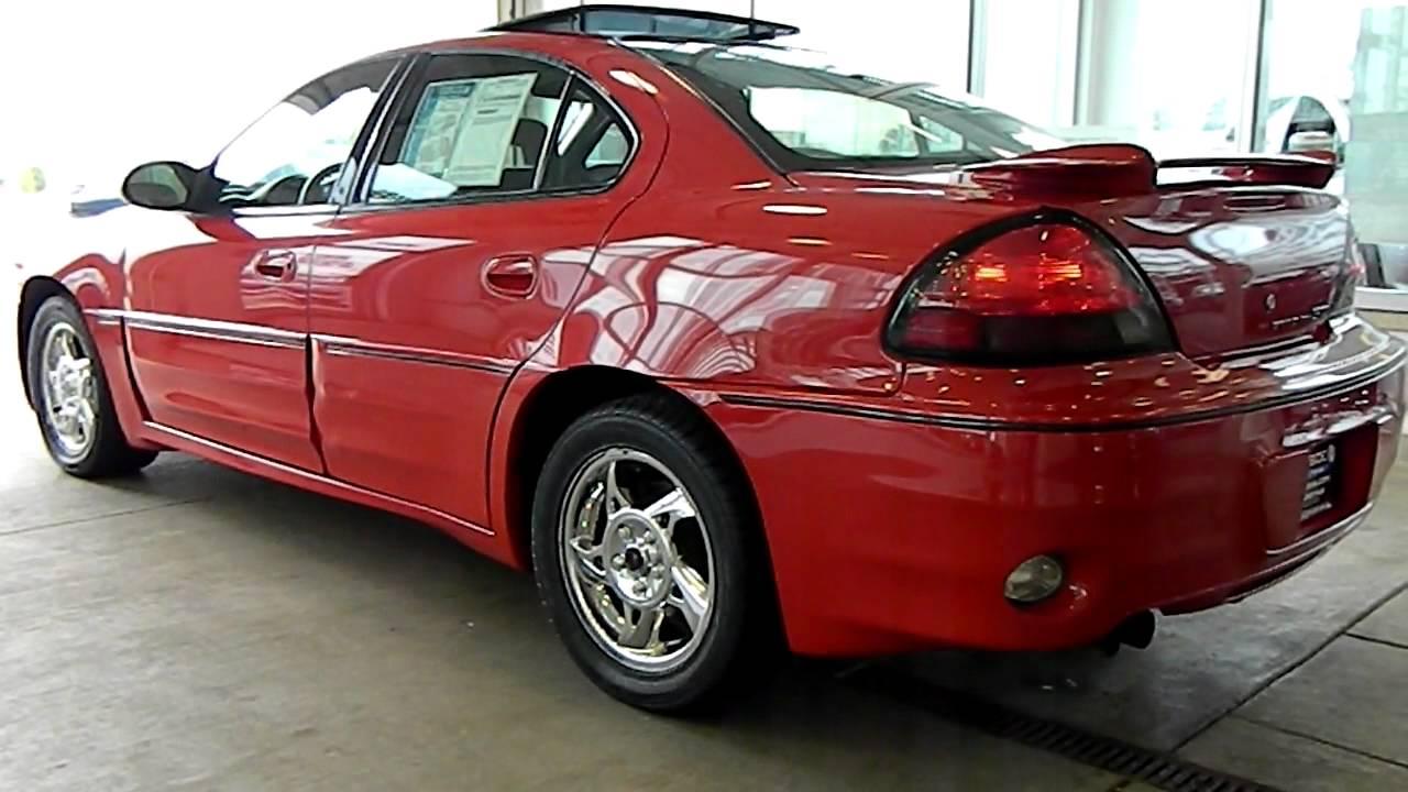 Victory Red 2004 Pontiac Grand Am Gt V6 Eastside Mazda