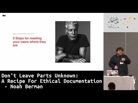 Don't Leave Parts Unknown: Meditations on Ethical Public API