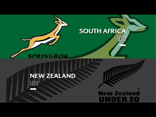 HIGHLIGHTS: South Africa U20 25-17 New Zealand U20