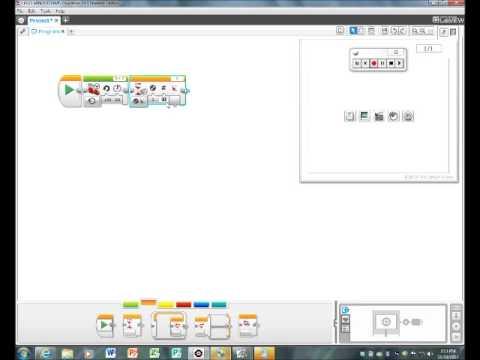 Lego Mindstorms EV3 Tutorial- Using the Gyro Sensor to Make 90 ...
