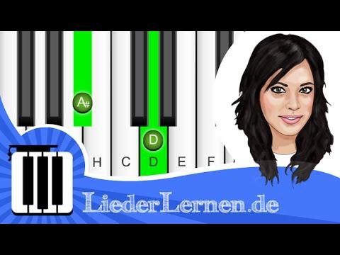 Silbermond - JA - Klavier lernen - Musiknoten - Akkorde