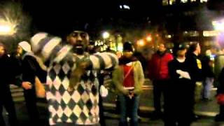 ZStackz Robotin' & DJ Paco @ Union Square April 2011