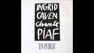 Ingrid Caven chante Piaf - C