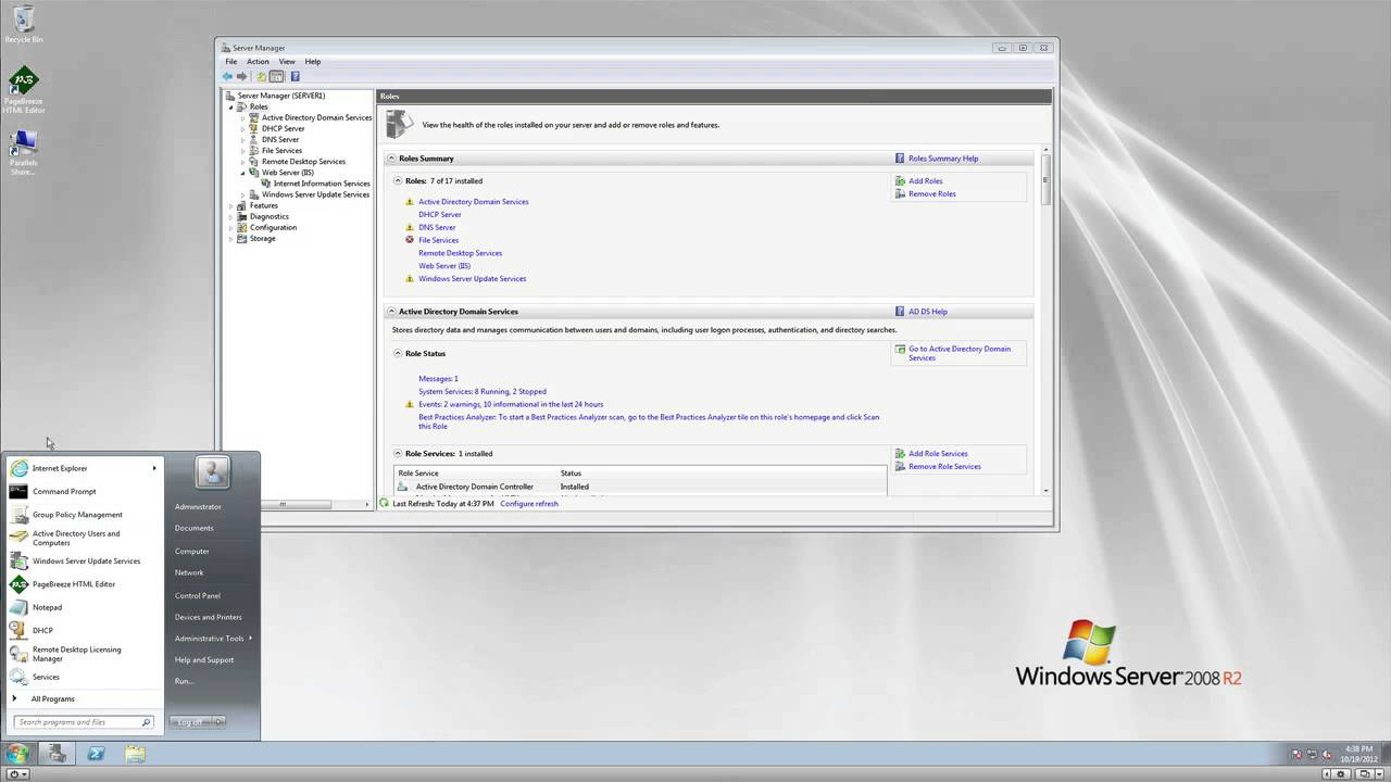 Windows server 2008 r2 remote desktop web access youtube for Web and windows