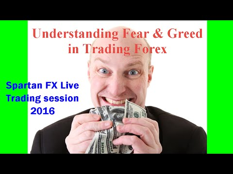 Understanding Fear & Greed in Trading (live trading room session ...