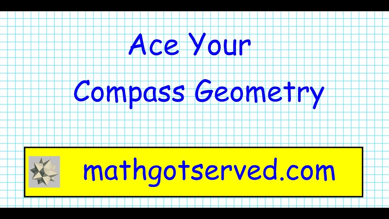 Compass Math Geometry Pt I Placement test ACT community college ...