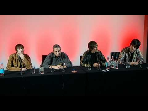 The Stone Roses reunion press conference part 4