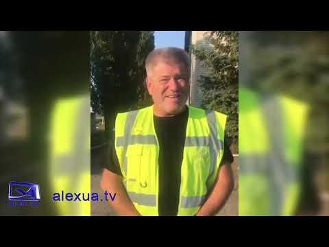 Телеканал ALEX UA - Новости: Зкидали асфальт у річку