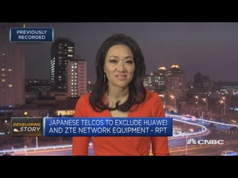 Japan's top three telco firms exclude Huawei and ZTE from 5G networks | Street Signs Europe