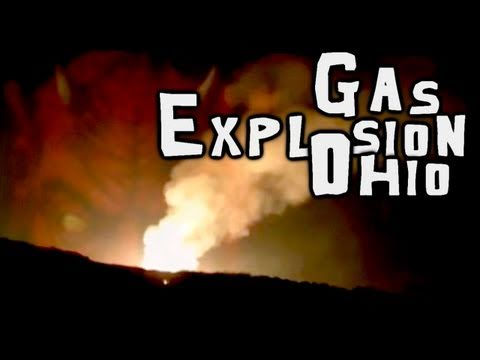 Natural Gas Explosion in Hanoverton Ohio