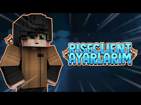 😱RİSECLİENT AYARLARIM! (FPS BOOST)😱 -CRAFTRİSE SKYWARS W/Xquers