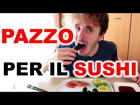 MANGIO SUSHI e DIVENTO PAZZO! - da vedere!!