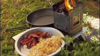 Firebox Bacon & Eggs Breakfast with Brad!