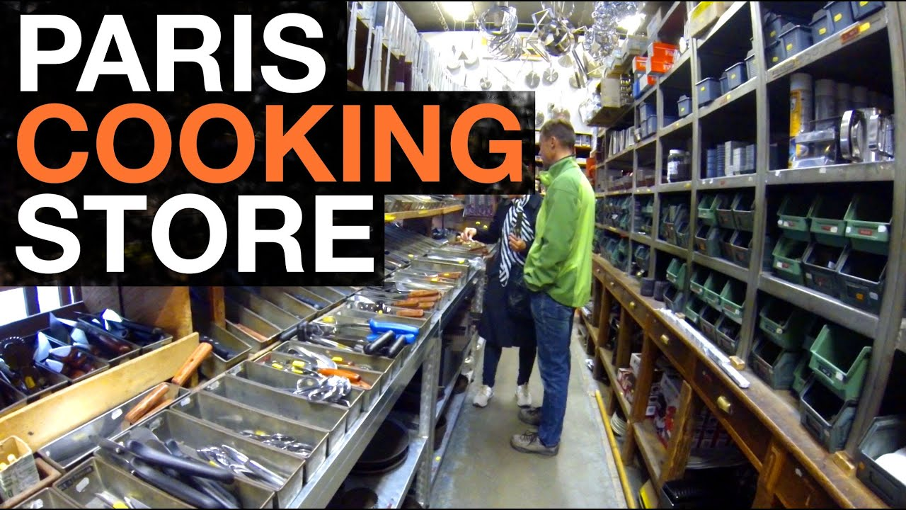 awesome kitchenware store in paris youtube
