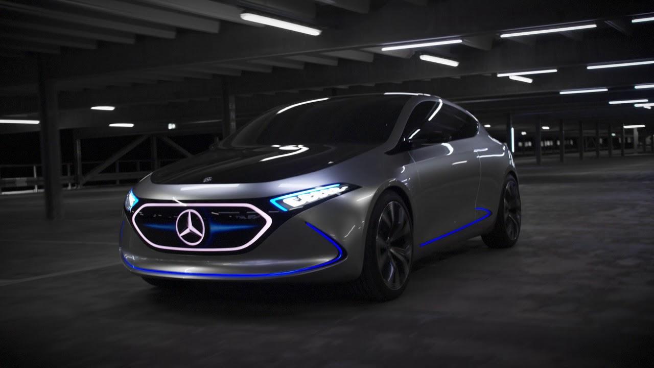 Mercedes-Benz Concept EQA - Driving Sscenes - YouTube