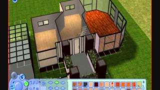 The Sims 2 - Building a Modern House/Pseudo Tutorial