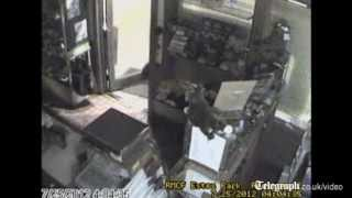 Bear breaks into a sweet shop in US