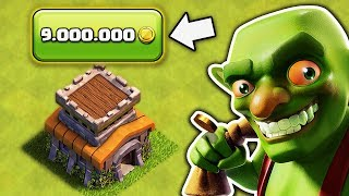 🛠️ ТРАЧУ 9.000.000 ЗОЛОТА НА ПРОКАЧКУ РАШЕРСКОГО 8 ТХ | CLASH OF CLANS 🛠️