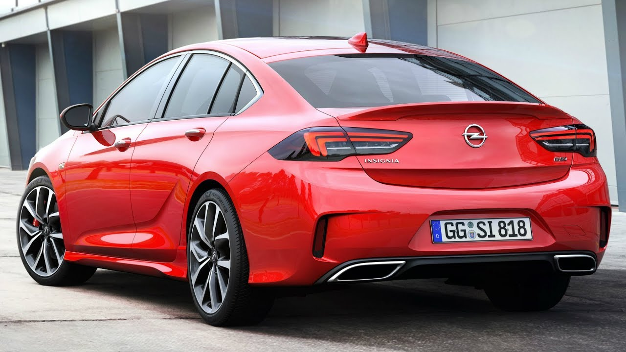 Vauxhall Insignia 2018 2018 Opel Insignia Gsi Grand Sport Makes The Difference