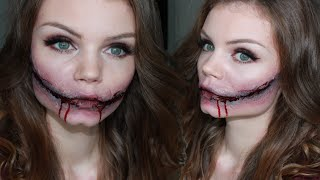 Sourire de l'Ange - Halloween Make up Tutorial ♥