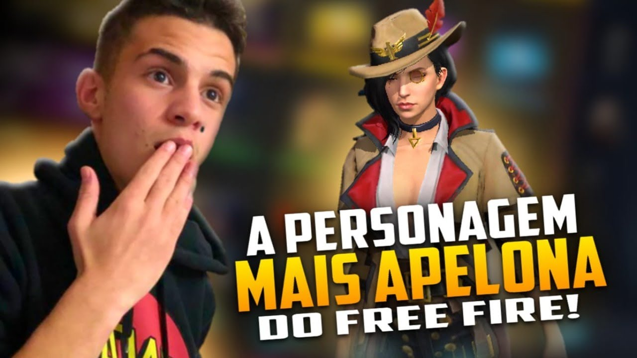 🚩NOVA PERSONAGEM MAIS APELONA!!! LSD999!!! SOLO RANKED!🔴FREEFIRE AO VIVO - LIVE