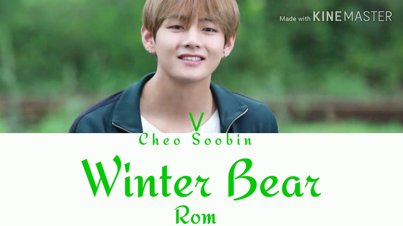 bts v winter bear color coded lyrics rom youtube. Black Bedroom Furniture Sets. Home Design Ideas
