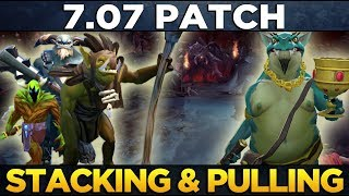 Stacking and Pulling Timings in 7.07 - Dota 2 Dueling Fates