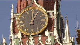 Rusia se pasa al horario de invierno... para siempre