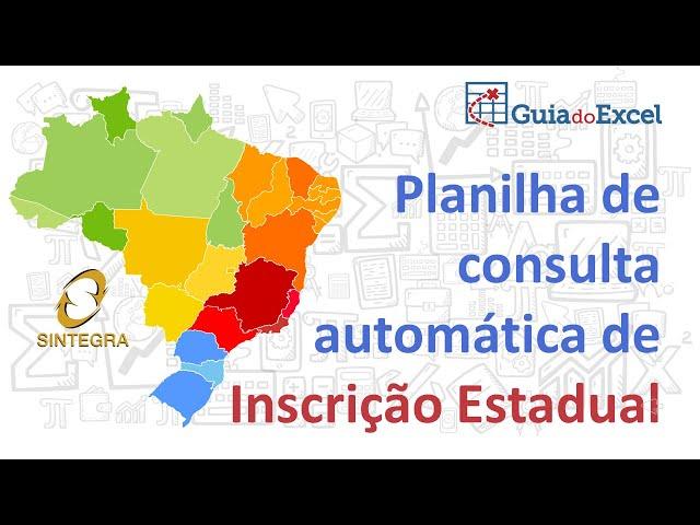Planilha Consulta SINTEGRA Automática