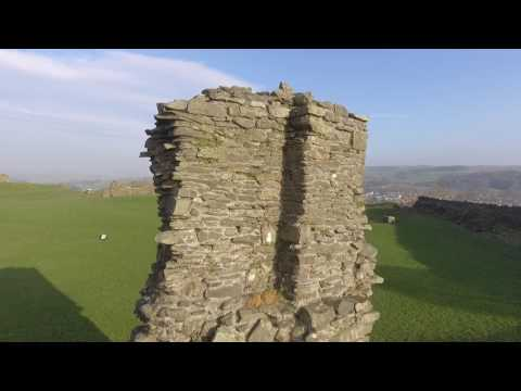 Kendal Castle Fly By