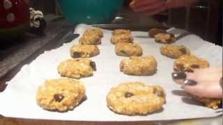Baking With Vanessa: Vegan Pumpkin Oatmeal Cookies ♥