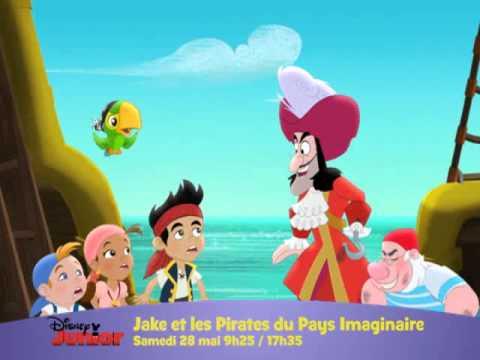Disney junior jake et les pirates du pays imaginaire - Jack et le pirate ...