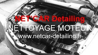 NETCAR Detailing -  Nettoyage moteur BMW 120D