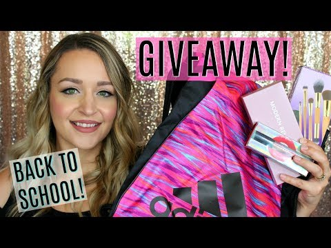 BACK TO SCHOOL GIVEAWAY! MAKEUP & SUPPLIES! (OPEN INTERNATIONAL)  | DreaCN