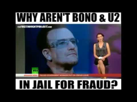 Pop Fake BONO RIPS OFF AFRICA with Dodgy Charity ONE