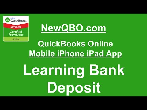 how to delete a deposit in quickbooks youtube
