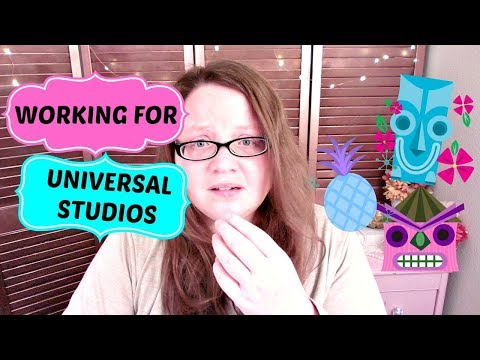 WORKING FOR UNIVERSAL STUDIOS
