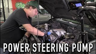 Replacing The Leaky Power Steering Pump: Jimmy Resto Ep.2